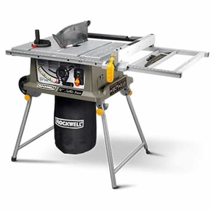 Rockwel table saw with laser