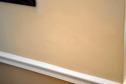 painted drywall