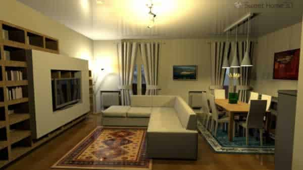 Best free home design software - Sweet Home 3D