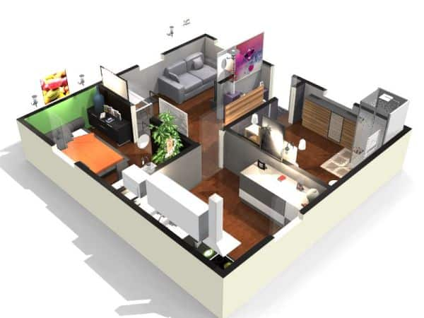 Best free home design software handyman tips for Room design 5d