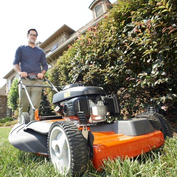 Garden power tools - husqvarna lawn mower