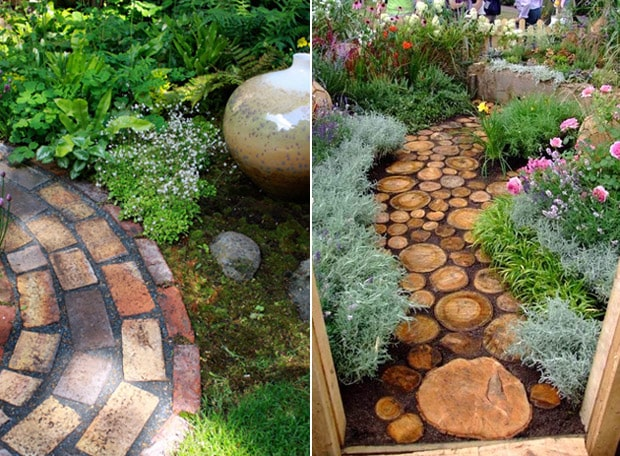 How to shape a garden - garden paths