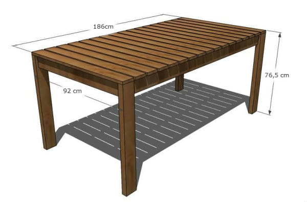 3 Width 92 Cm 36 2 Inches Table