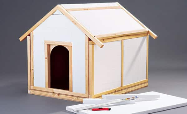 dog house styrofoam