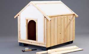 dog house wood strip