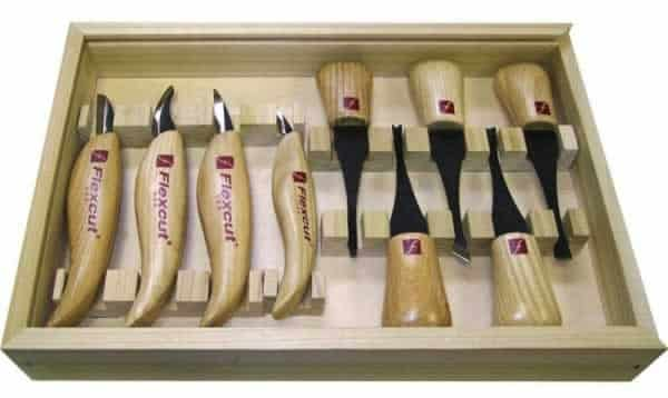 Wood carving tools - Flexcut