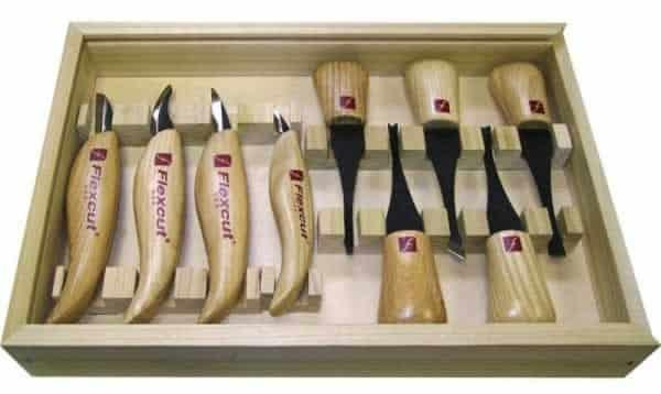 Wood carving tools - Flexcut