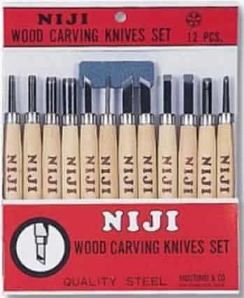 Wood carving tools - Niji