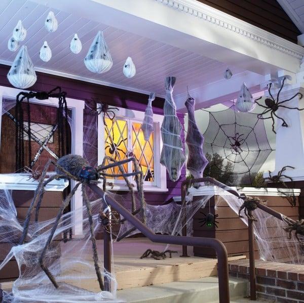 Halloween cobweb