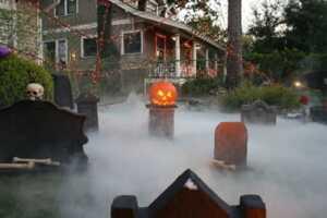 halloween fog