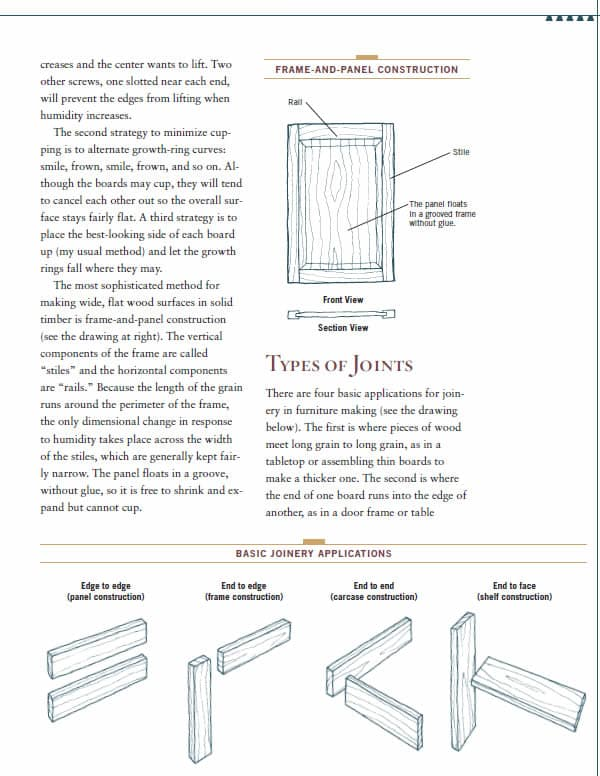 woodworking basics page