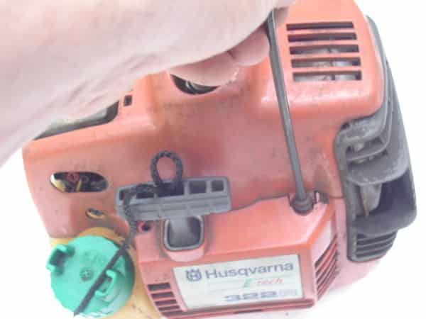 grass trimmer housing