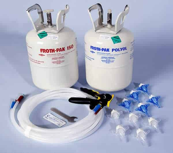 spray foam insulation kit