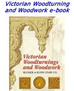 Victorian woodturning and woodwork