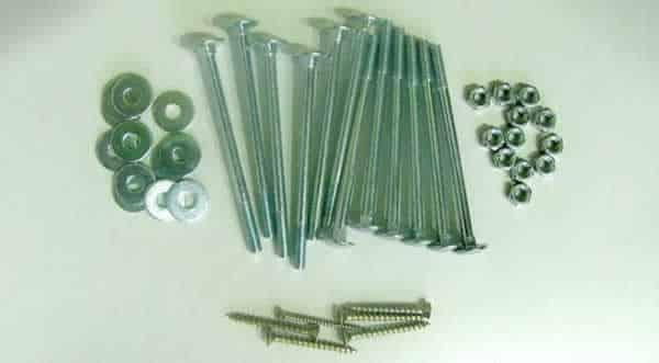 Pallet garden chair - screws