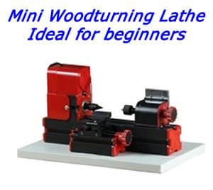 Mini woodturning lathe