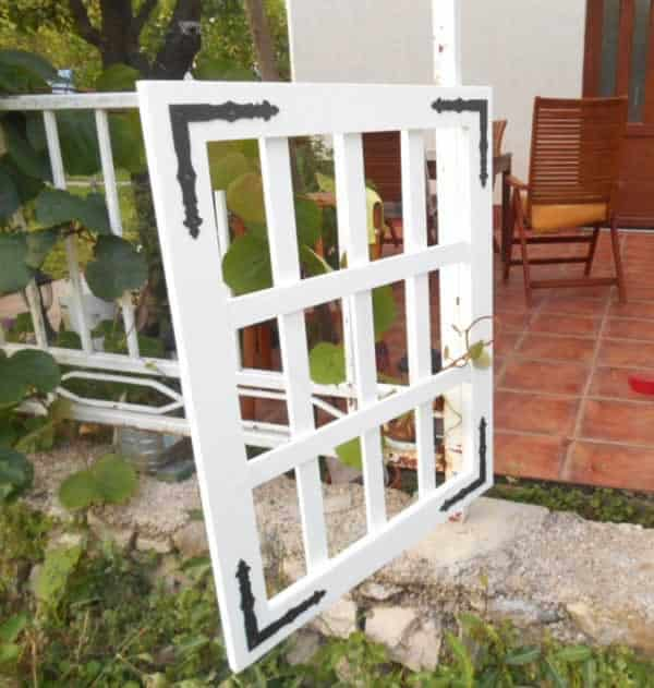 DIY small fence gate