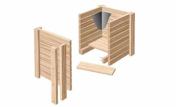 diy wooden flower pot handyman tips. Black Bedroom Furniture Sets. Home Design Ideas