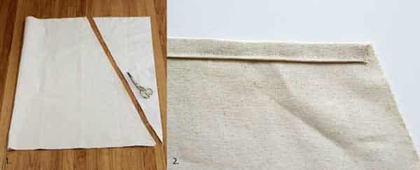 DIY swing - cloth
