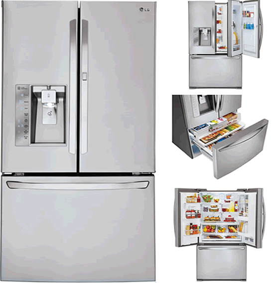 Best French Door Refrigerators - LG