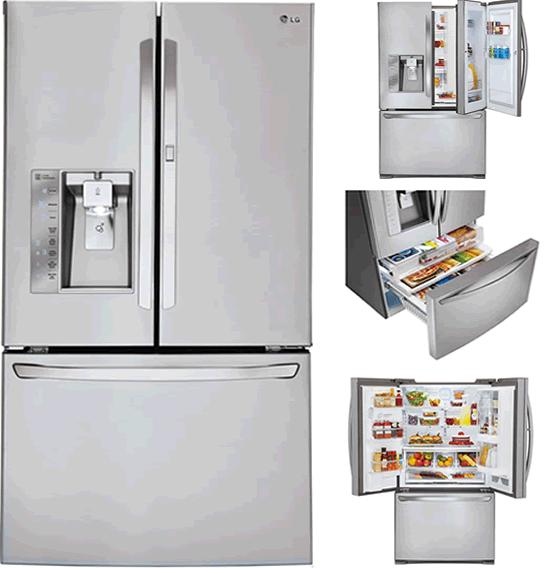 Best French Door Refrigerators - LG