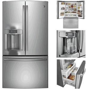 Best French Door Refrigerators - GE