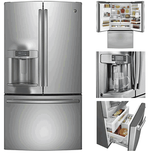 Best French Door Refrigerators - GE