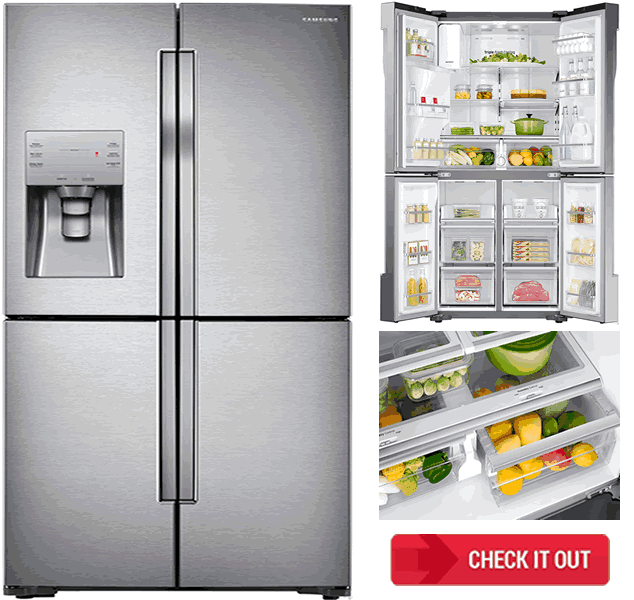 Samsung French Door Refrigerator - AJ Madison