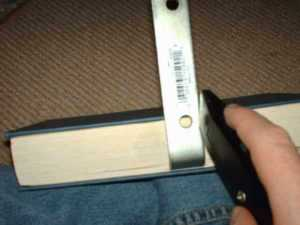 DIY invisible bookshelf cutting