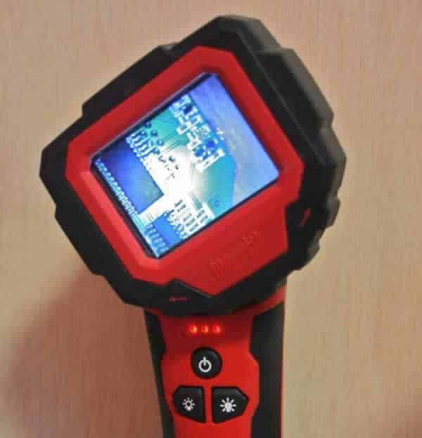 Milwaukee M-Spector 360 - rotating display