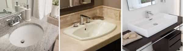 How to choose a bathroom vanity - sinks