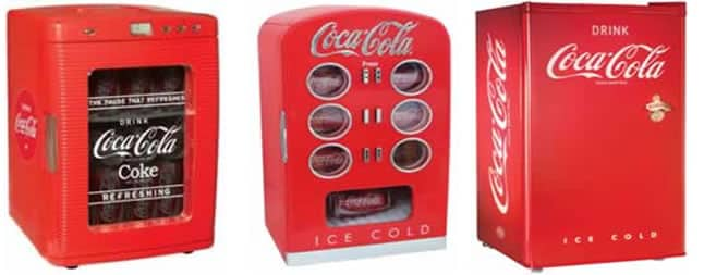 Retro kitchen appliances - Coca cola