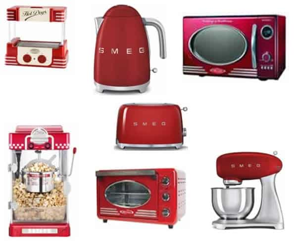 Retro kitchen appliances - small appliances