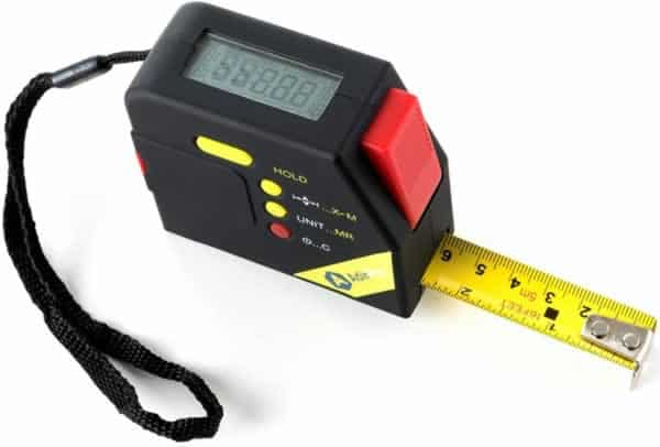 Handyman tips for female homeowners - tape measure