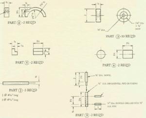 How to make a wooden semi truck - schema2
