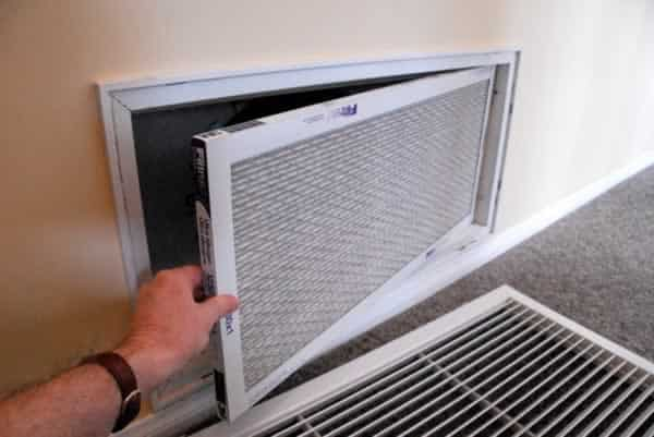 DIY Air Conditioner Maintenance - filter