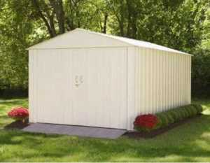 How to choose perfect garden shed - metal shed