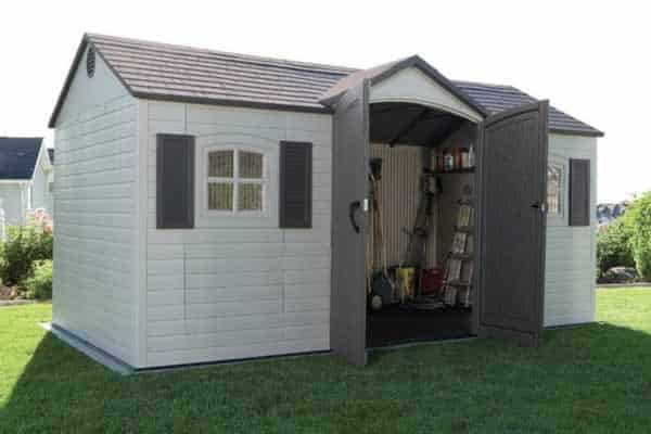 How to choose perfect garden shed - resin shed