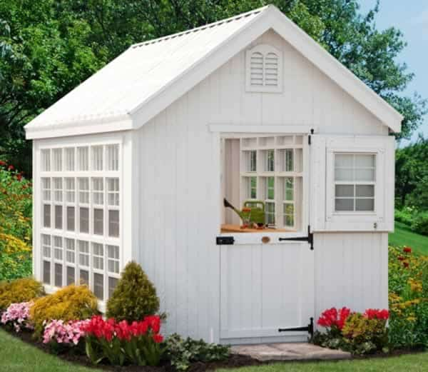 How to choose perfect garden shed - wooden shed