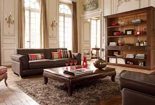 How to choose vintage furniture - living room