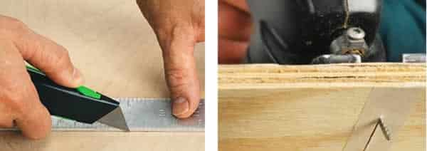 How to cut plywood without tear out - jigsaw