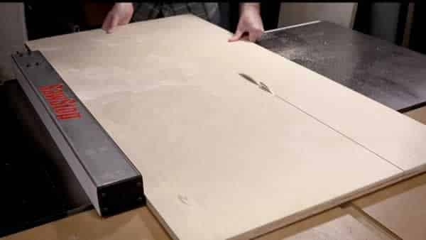 How to cut plywood without tear out - table saw