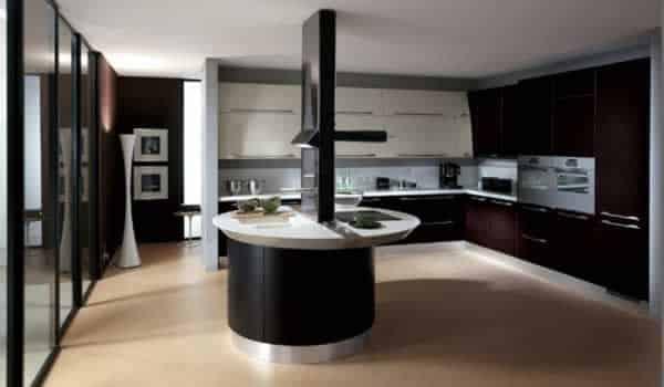 Functional kitchen design - modern design