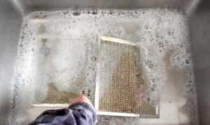 How to clean a range hood - filters