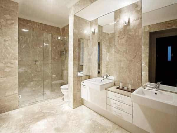 Tips for building a new home - bathroom