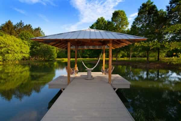 Best ways to improve your home value - pond