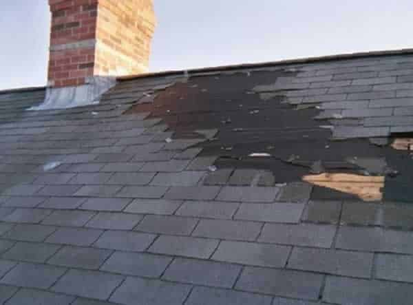 How to repair damaged roof