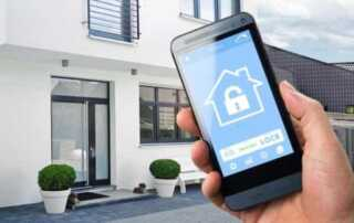 How to use smartphone for home security