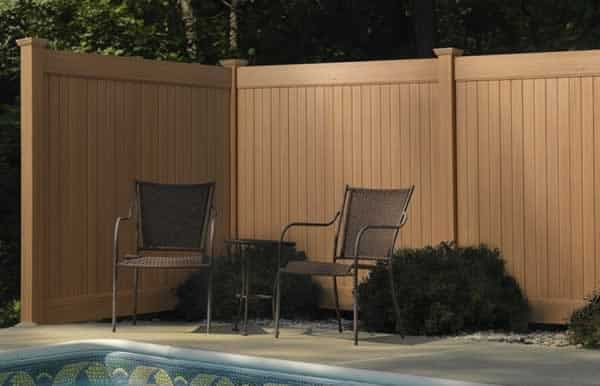 The most popular fence trends - vinyl fence