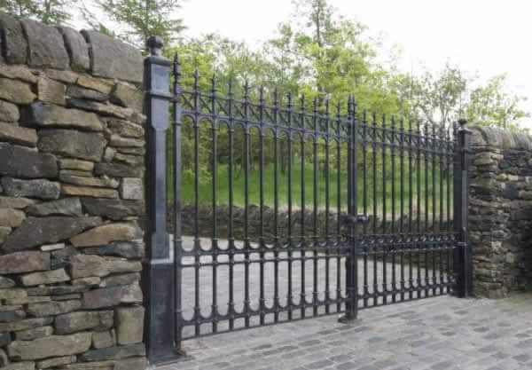 The most popular fence trends - wrought iron fence